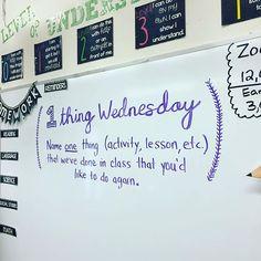 Give me that student feedback. #studentchoice #feedbackdrivesourclass #1thingwednesday #miss5thswhiteboard #iteachfifth #teachersfollowteachers #teachersofinstagram #iteachtoo #teachergram