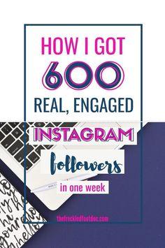How to get instagram followers fast.  A simple way to get real, engaged instagram followers on autopilot.  #instagram #marketing #socialmediamarketing #socialmediatips #bloggingtips Instagram Feed, Get Real Instagram Followers, How To Get Followers, Get More Followers, Fast Followers, Instagram Money, Instagram Ideas, Hashtag Finder, Instagram Marketing Tips