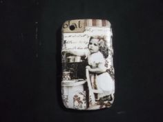 A Girl in vintage Decoupage case/ Classic style/ for by Nannapatt, $15.50