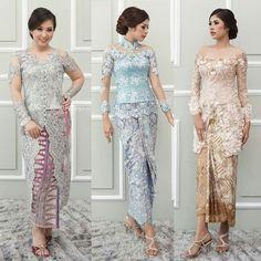 Kebaya Lace, Kebaya Brokat, Kebaya Dress, Batik Kebaya, Kebaya Modern Hijab, Kebaya Muslim, Model Rok, Model Kebaya, Dress Hairstyles