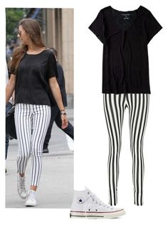 """""""Eleanor Calder Inspired Outfit"""" by shreyatorvi ❤ liked on Polyvore featuring Boohoo, Aéropostale and Converse"""