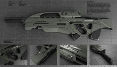 Kiara rifle by *peterku on deviantART