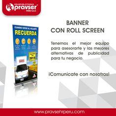 Banners Publicitarios  Comunícate con nosotros: http://www.pravserperu.com WhatApp: 981 044 858