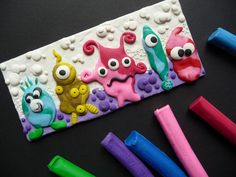 Plasticine Art Fun Tutorial for kids and adults! Projects For Kids, Diy For Kids, Art Projects, Crafts For Kids, Arts And Crafts, Fun Crafts, Plasticine, Puffy Paint, Breakfast For Kids