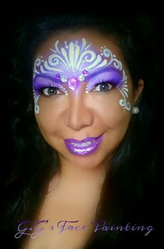 Princess Crown by Gio https://www.facebook.com/GGsFacePaintingAndKreations/
