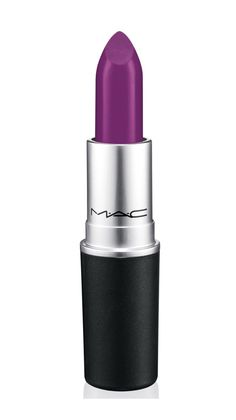 MAC Lipstick in Heroine, $16 at Nordstrom. Originally launched as part of MAC's Reel Sexy collection, it quickly became a fan favorite (multiple internet message boards devoted threads documenting their love affair of the lipstick). MAC heard their cries and brought this violet shade into its permanent collection this year.
