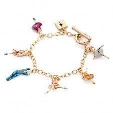 Gold Plated Ballerina Charm Bracelet in a Gift Box yrs), Royal Ballet Jewellery, Girl Kids Charm Bracelet, Kids Bracelets, Royal Ballet, Gold Jewelry, Jewellery, Ballerina, Little Girls, Charmed, Gifts