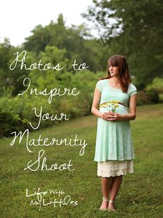 Photos to inspire your maternity photo shoot