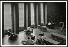 Science reading room, 1950