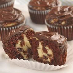 Chocolate Cheesecake Cupcakes – Holidays