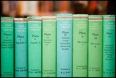 a shelf of green.. #coloroftheyear