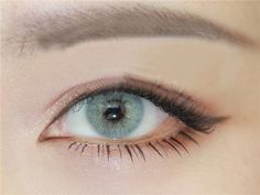 Soft Cosmetic Colored Contact Lenses Polar Aurora Cinerous Eye
