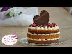Naked Cake   Erdbeer-Mascarpone-Torte   Muttertagstorte von Nicoles Zuck...