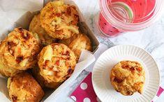 Lunch box pizza muffin recipe