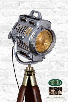 Arri Vintage Theatre Tripod Lamp by Artifact Lighting