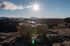 Break while hiking by Johannes Vallivaara on Moscow Mule Mugs, Arctic, Finland, Wilderness, Hiking, Canning, Walks, Trekking, Home Canning