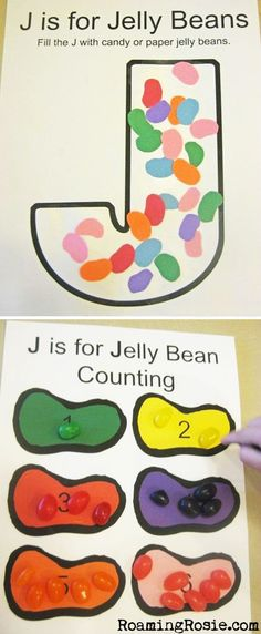 If you're new here, please read the Introduction to the Alphabet Activities first! Here are all of the printable PDFs for the Letter J. They are free for home and classroom use, but please d…