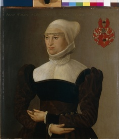 Portrait of a 28-year-old woman, 1563;  By Hans Mielich(1516-1573)  Inventarnummer: Gm1651;