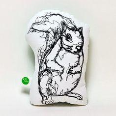 squirrel pin cushion