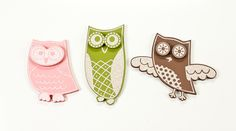 Glitter Owl Wall Shapes- Adore!