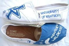 #University of Kentucky TOMS www.fruitfulfeet.com #Custom #TOMS #UniversityofKentucky #UK #University