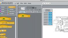 Windows/Mac/Linux: Programming an Arduino isn't especially difficult, but if you're looking for a more visual method, Scratch for Arduino (S4A) uses MIT's Scratch as a groundwork for teaching kids (or beginners) how to program an Arduino.