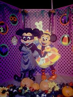 Disneyland Halloween ~ Mickey & Minnie
