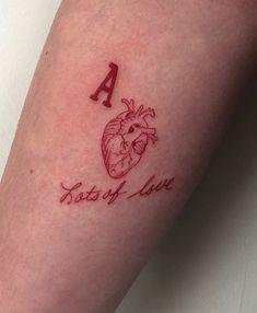 31 Amazing Tattoo Design - Page 19 of 27 - Tattoo Designs Red Ink Tattoos, Dainty Tattoos, Pretty Tattoos, Cute Tattoos, Body Art Tattoos, Small Tattoos, Tatoos, Unique Tattoos, Modern Tattoos