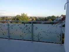 Image result for frosted glass balconies
