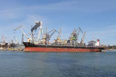 Bulk Carrier Strategic Endeavor in Nauta Shiprepair Yard, April 2015  photo: J. Staluszka