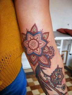 Tattoo by Barbara Swingaling, tattoo artist @ Classic ink & Mods, Amsterdam
