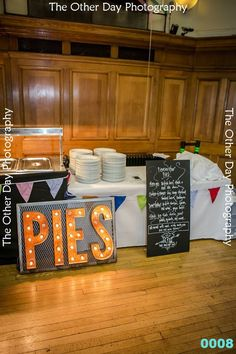 Pieminister wedding buffet