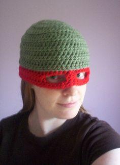 Raph Hat by Ginrei, via Flickr teenage mutant turtles