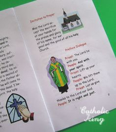 Catholic Icing: New Mass Responses Booklet for Kids- Free to Print!