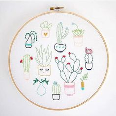 It's time to #craftwithconscience ! This week I want to celebrate the variety of nature and flexibility of thread. I'm thrilled to share a collaborative work that combines two of my favorite things: sewing and cacti. These cactus cuties from @ohbabybird and @threadfolk just go to show that there is more than one way to stitch a plant. Hope you enjoy and  be sure to check out their feeds to see more green and stitchy goodness.