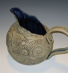 i really really like this! awesome coil pitcher Handbuilt Pottery by Jim Irvine