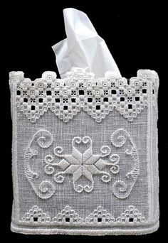 Boutique Hardanger Tissue Wrap