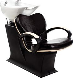Lady Clio wash unit by Ayala salon furniture. Contemporary salon design. # #Salonideas