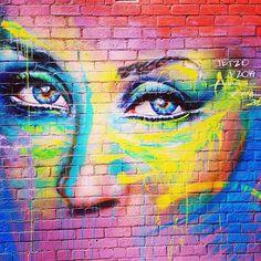 adnate | street art | fitzroy | graffiti