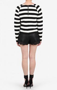 Jewels And Stripes Sweater | #ustrendy www.ustrendy.com