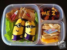 Kreatives Essen von Lunchbox Dad