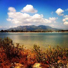 Lake in Cam Ranh, Vietnam.