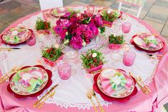 Brides: A Bright Lilly Pulitzer-Inspired Bachelorette Weekend Shoot @Whitney: Très Chic Southern Weddings