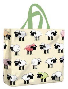 Sheepish PVC Mini Gusset Bag by McCaw Allan