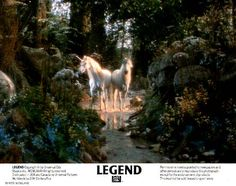 Legend Movie Unicorn   Images of the European Lobby Cards for LEGEND