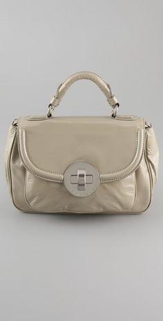 marc by marc jacobs- patent petite rue satchel - $345