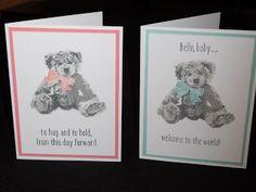 SistersInk Cards & Paper Art: Baby Bear Love