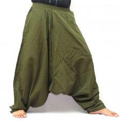 Aladinhose Pumphose Sii Khiao grün
