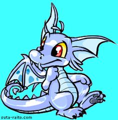 Photo of Draik for fans of Neopets.