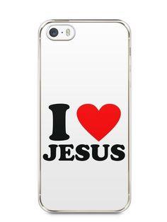 Capa Iphone 5/S I Love Jesus - SmartCases - Acessórios para celulares e tablets :)
